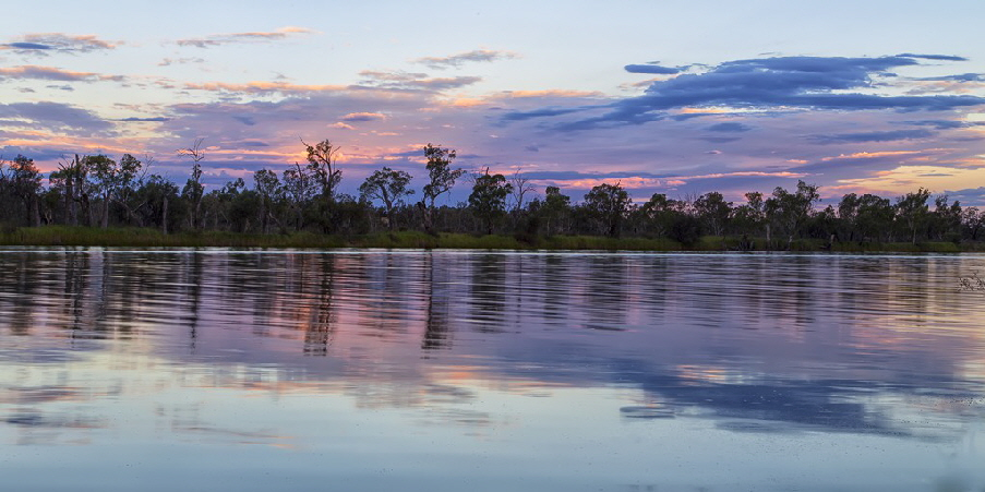 River Murray at sunset